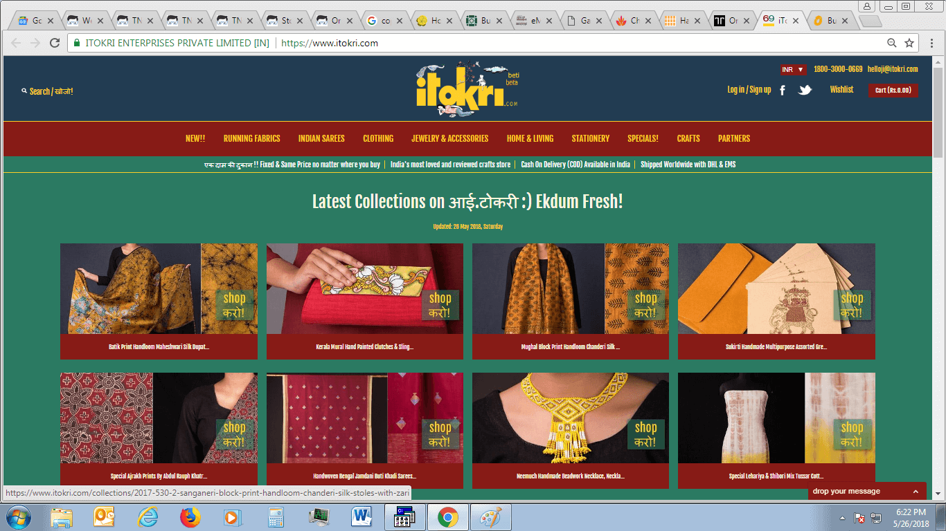 Top 10 E Commerce Sites For Handicraft Products Craftoutlook Com