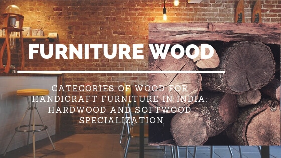Wood for Handicraft Furniture: Hardwood and Softwood Specialization