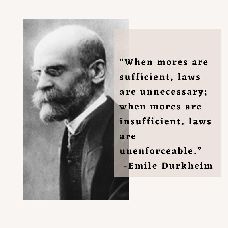 Emile Durkheim - A Social Scientist