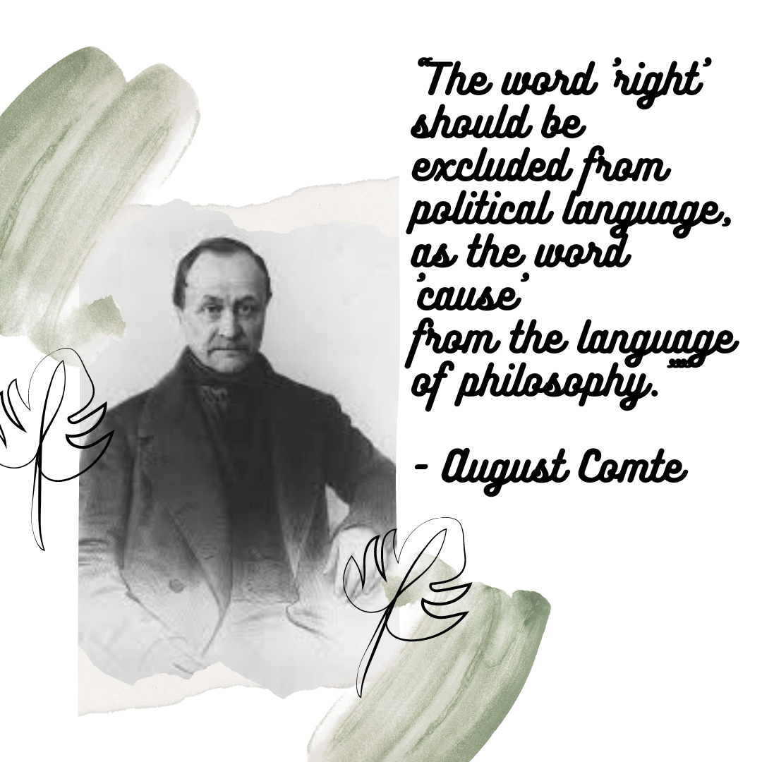 August Comte-The Father of Sociology-quotes